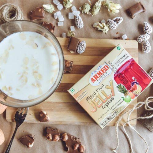 ahmed mixed fruit jelly – 85g