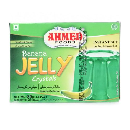 ahmed banana jelly – 80g