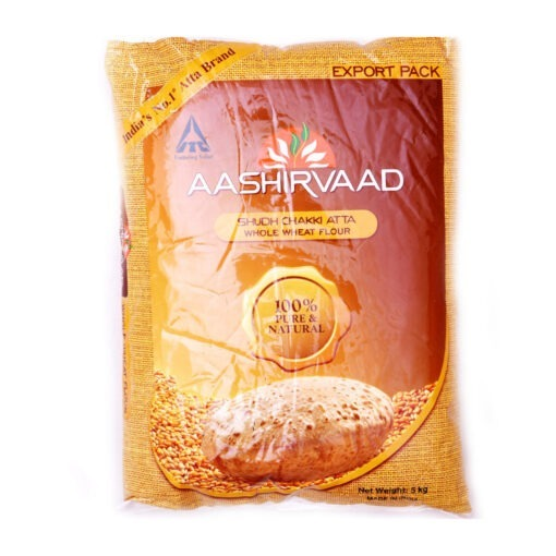 aashirvaad whole wheat atta – 5kg