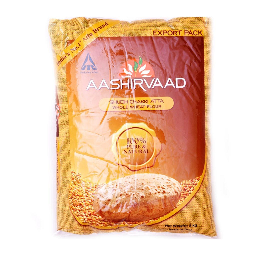 aashirvaad whole wheat atta – 5kg