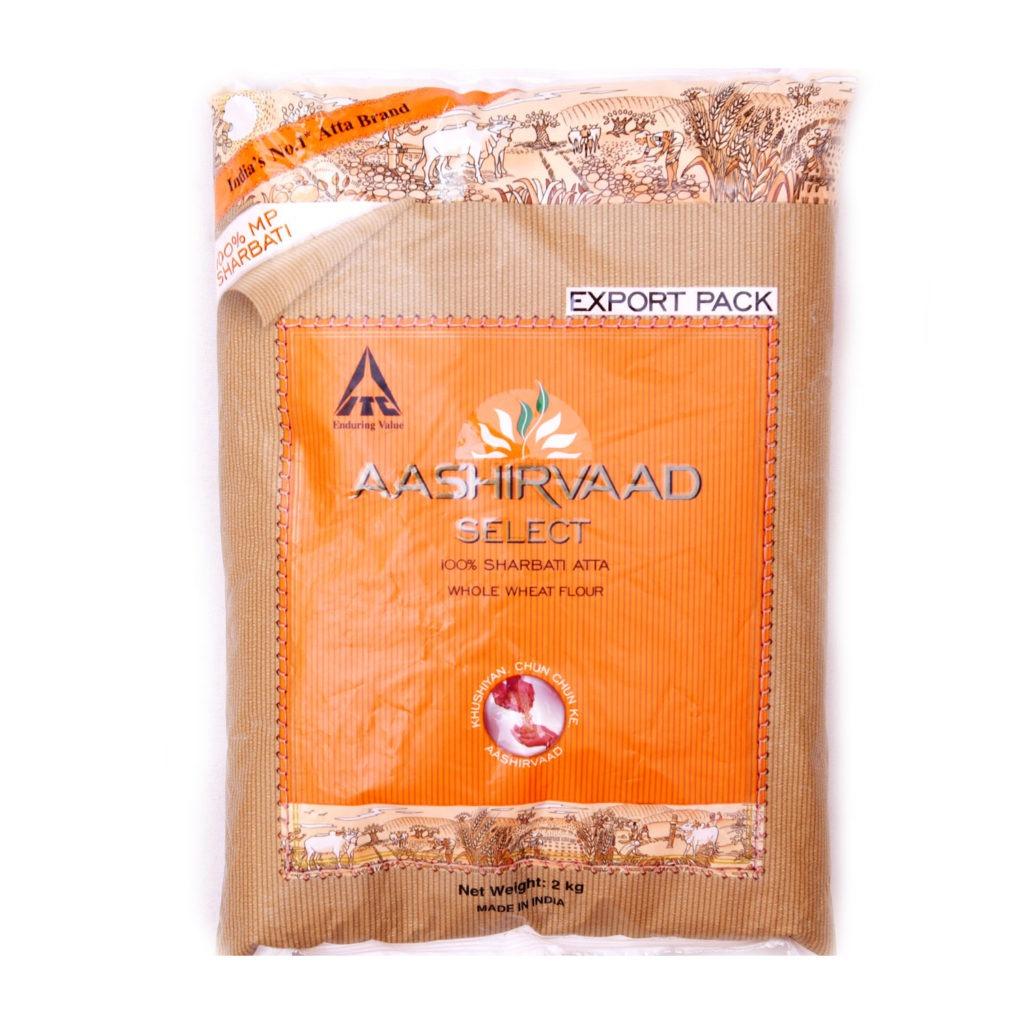 aashirvaad whole wheat atta – 2kg
