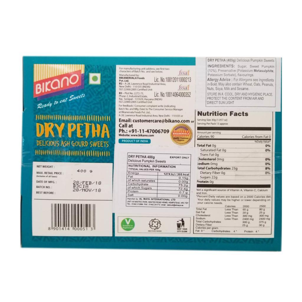 bikano  dry peetha – 400g