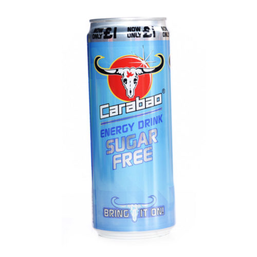 carabao sugar free energy drink – 330ml