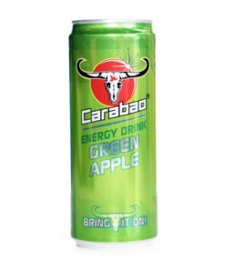 carabao apple flavour energy drink  – 330ml