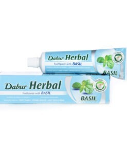 dabur herbal toothpaste – basil – 100ml