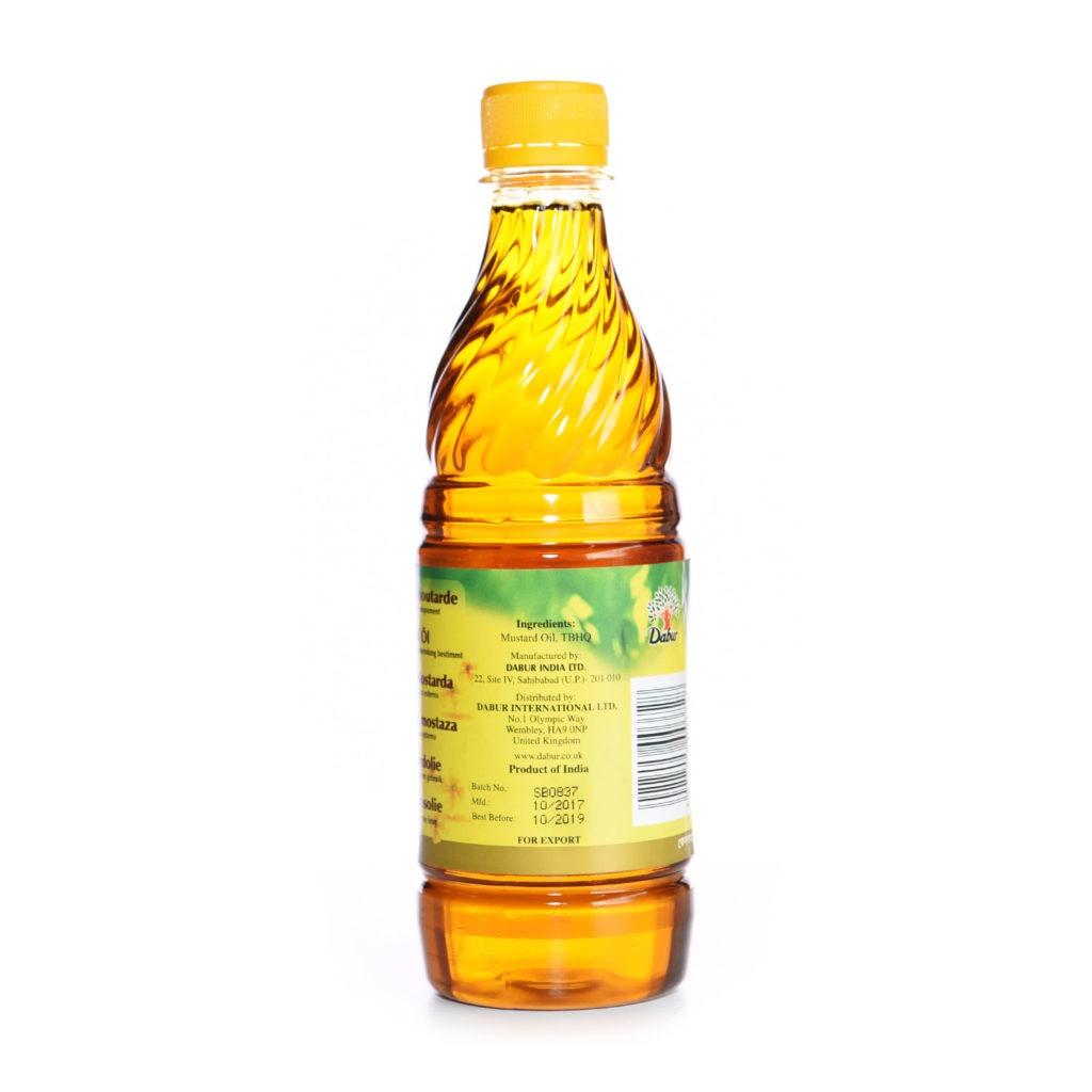dabur indian mustard oil – 500ml