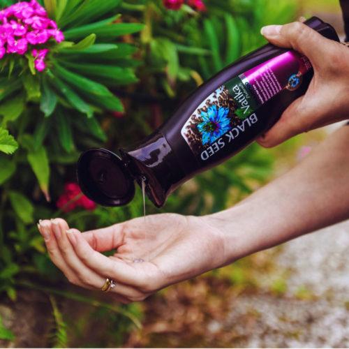 dabur vatika black seed shampoo  – 200ml