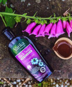 dabur vatika enriched black s hair oil  – 200ml