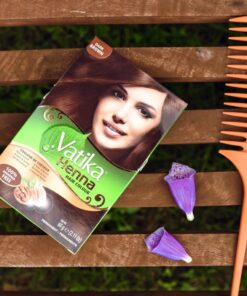 dabur vatika henna hair colour dark brown – 60g