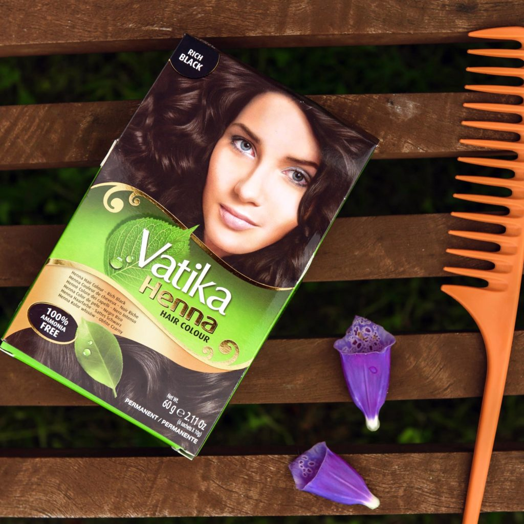 Masala Wala Dabur Vatika Henna Hair Colour Natural Black 60g
