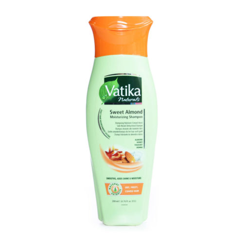 dabur vatika sweet almond moist shampoo  – 200ml