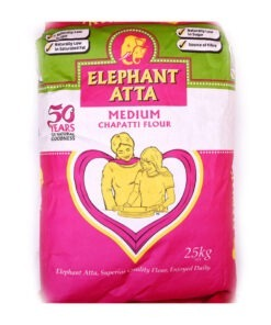 elephant atta medium flour – 25kg