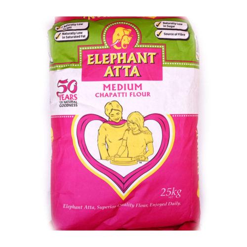elephant atta medium flour – 25kg