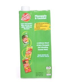 sun exotic cocout annanas juice  – 1l