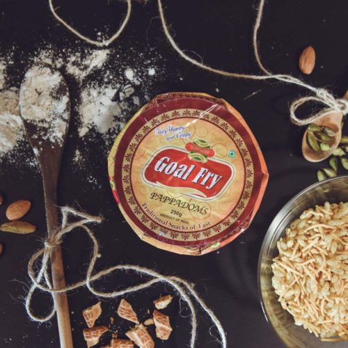 goal fry madras papad small – 200g