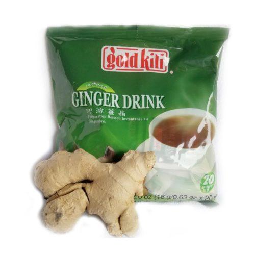 gold killi ginger instant tea – 360g