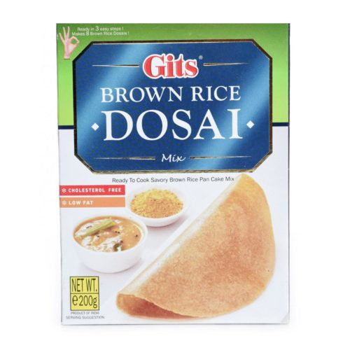 gits brown rice dosai – 200g