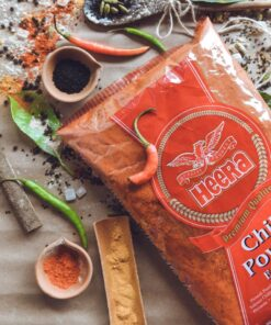 heera chilli powder extra hot – 1kg