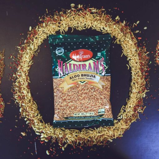 haldiram's aloo bhujia – 200g