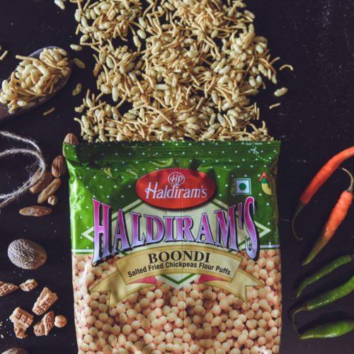 haldiram's boondi plain – 200g