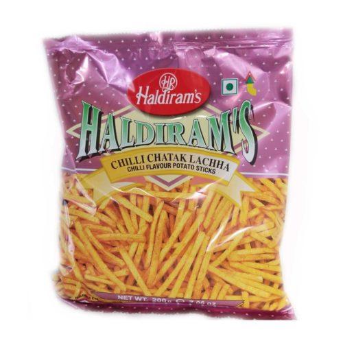 haldiram's chilli chatak lachha – 200g