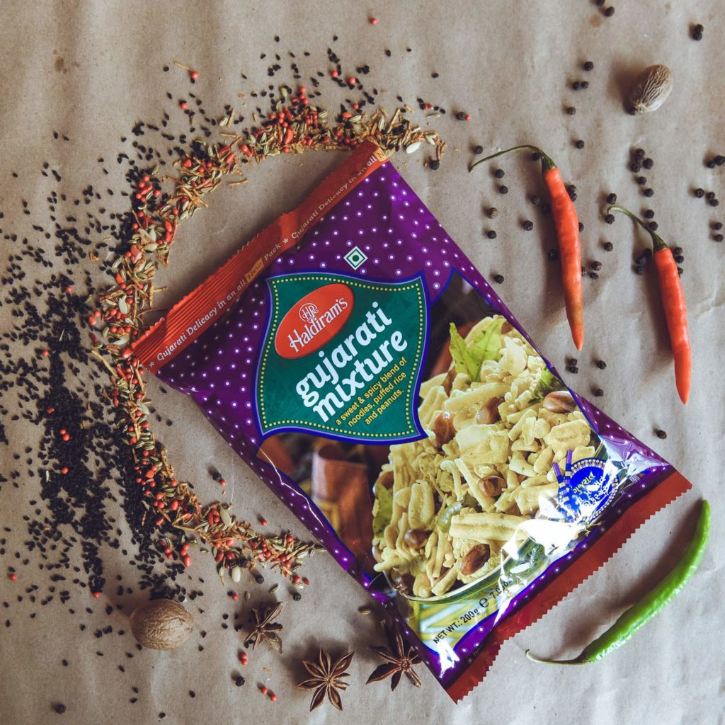 haldiram's gujarati mix  – 200g