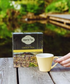 imperial loose green tea – 500g