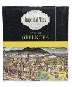 imperial green tea bags – 2gx100tb