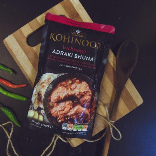 kohinoor lucknow adraki bhuna – 375g