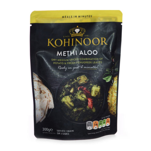 kohinoor methi aloo – 375g