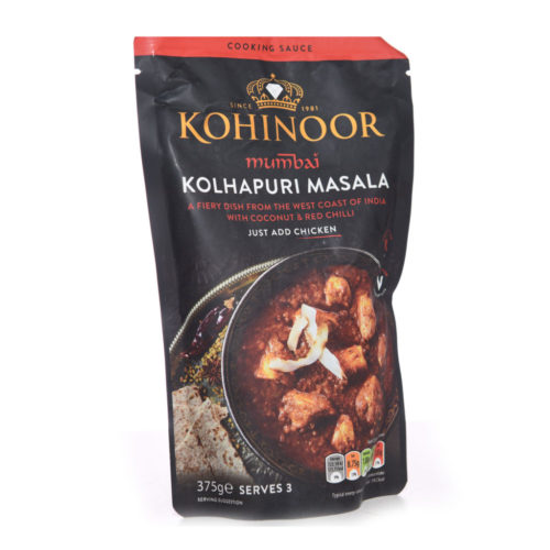 kohinoor mumbai kolhapuri masala sauce – 375g