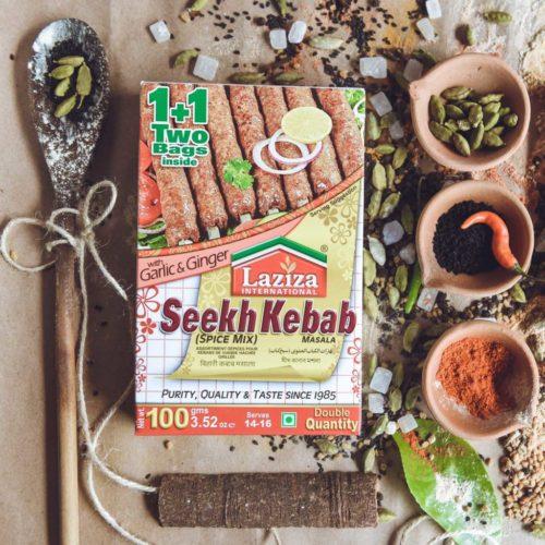 laziza seekh kebab masala – 100g