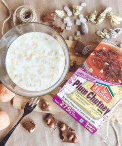 laziza plum chutney mix – 275g