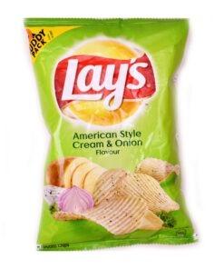 lays american cream & onion – 52g