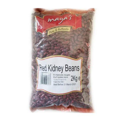 maya's red kidney beans