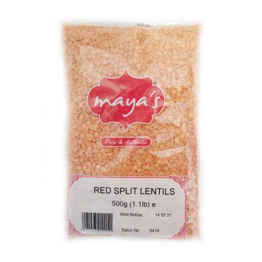 maya's red lenltis – 500g