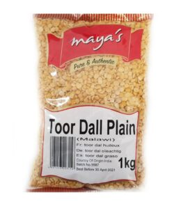 maya's toor dal plain