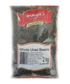 maya's urad whole – 2kg