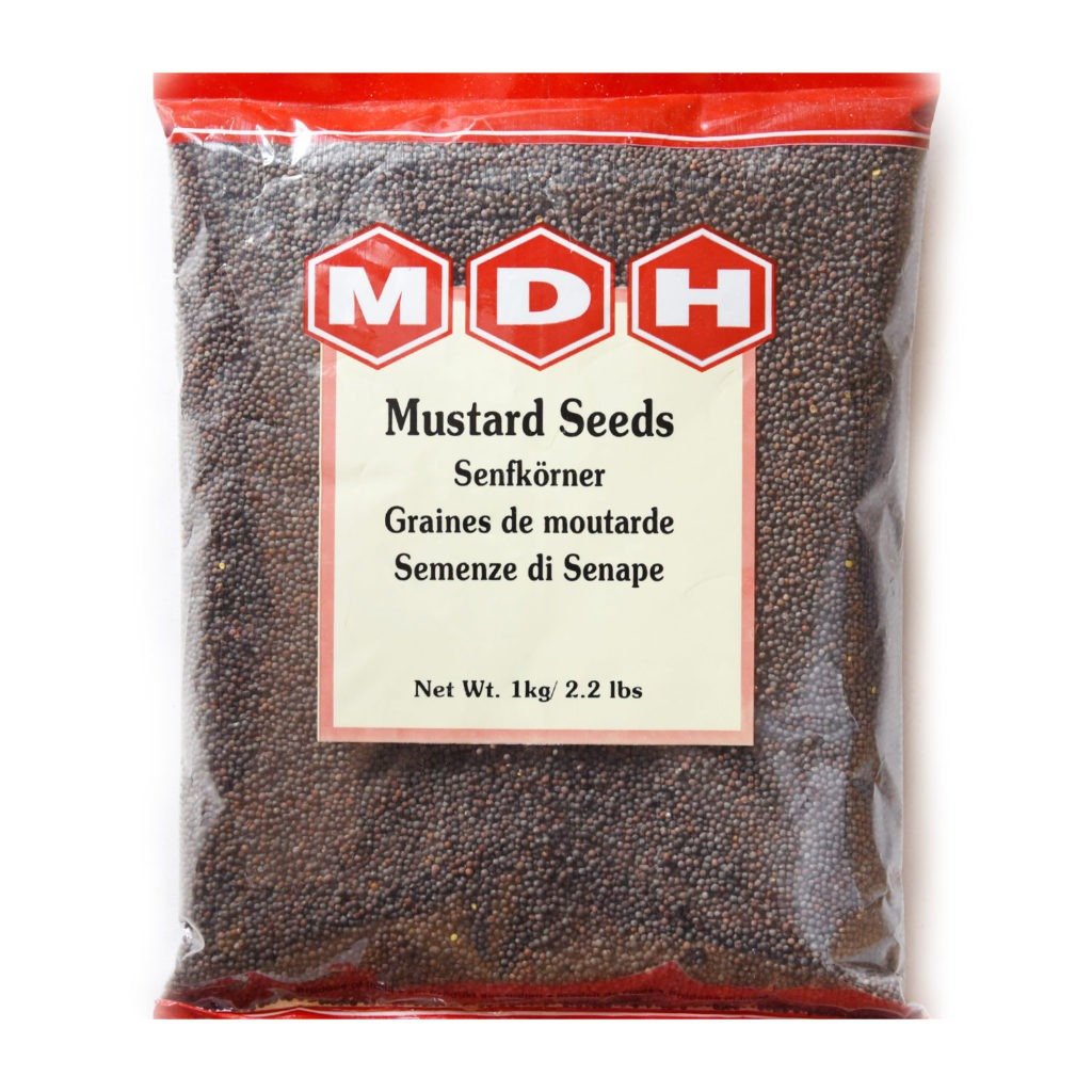 mdh mustard seeds – 100g
