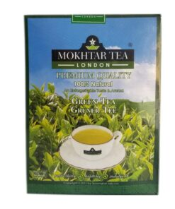 mokthar  green tea lose – 500g