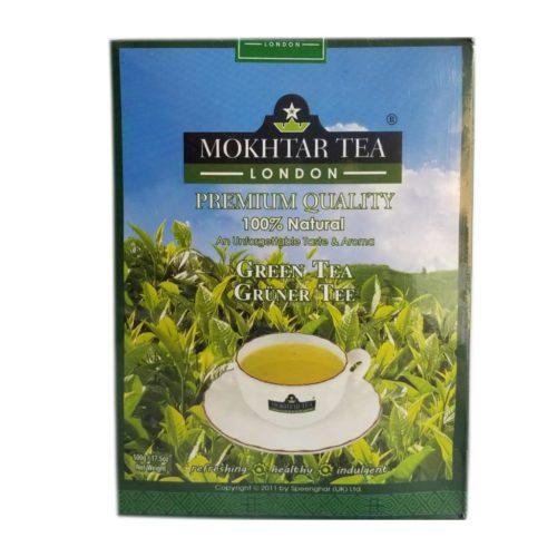 mokthar  green tea lose – 500g