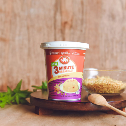 mtr foods breakfast kesari halwa – 80g