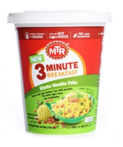 mtr foods breakfast khatta meetha poha – 80g