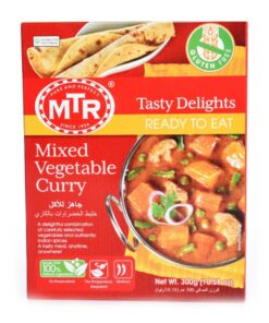 mtr foods rte mixed veg curry – 300g