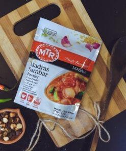 mtr foods madras sambar powder – 100g