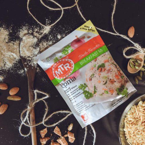 mtr foods plain upma mix – 200g