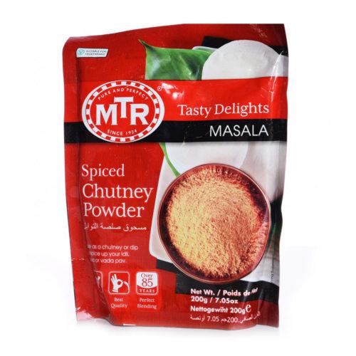 mtr foods spiced chutney powder – 200g