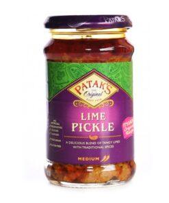 pataks lime pickle medium – 283g