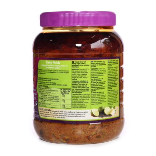 pataks lime pickle mild