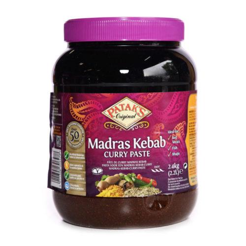 pataks madras/kebab paste – 2.3kg
